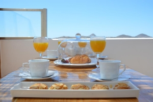 Suite Zen Panorama, Milos Zen Suites: luxury holiday homes rooms Sarakiniko beach